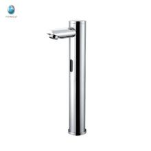 KS-09 moderno de lujo de latón macizo válvula de cerámica baño 5 años garantía de calidad fregadero activado sensor de la llave