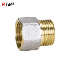 A 17 4 12 male brass fitting female thread nipple brass thread fittings