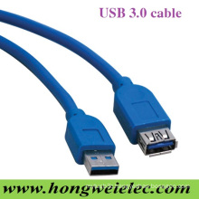 Connect a Male to Female Extension USB 3.0 Cable