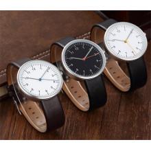 Relógio De Luxo Japão Movimento Casual Negócios De Couro Quartz Relógio Mens Wholesale Fábrica