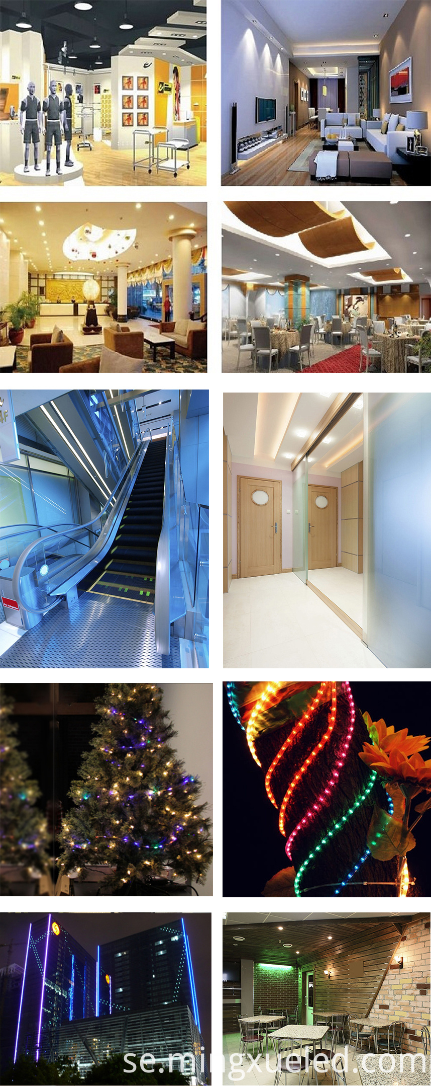 led light Applications