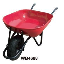 Carrinho de Mão em Pó Revestido Wb4688 para o Mercado da Colômbia