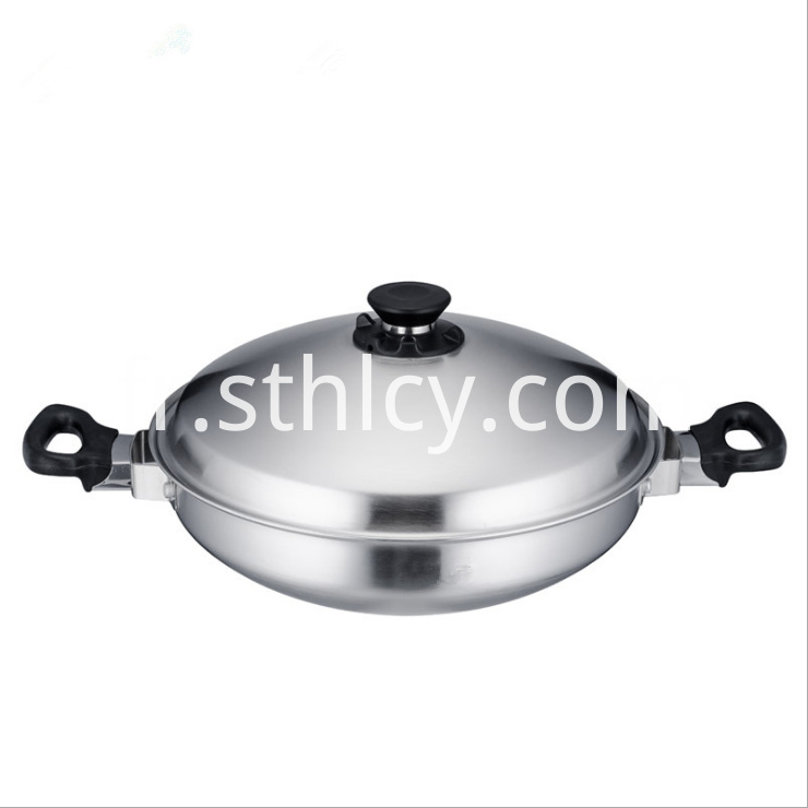 Multipurpose 35cm Chinese Style Fry Pan1