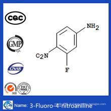 CAS 2369-13-3 Intermediários farmacêuticos mais vendidos 3-Fluoro-4-Nitroaniline