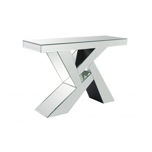 HOT SELL Mirrored Console Glass Silver