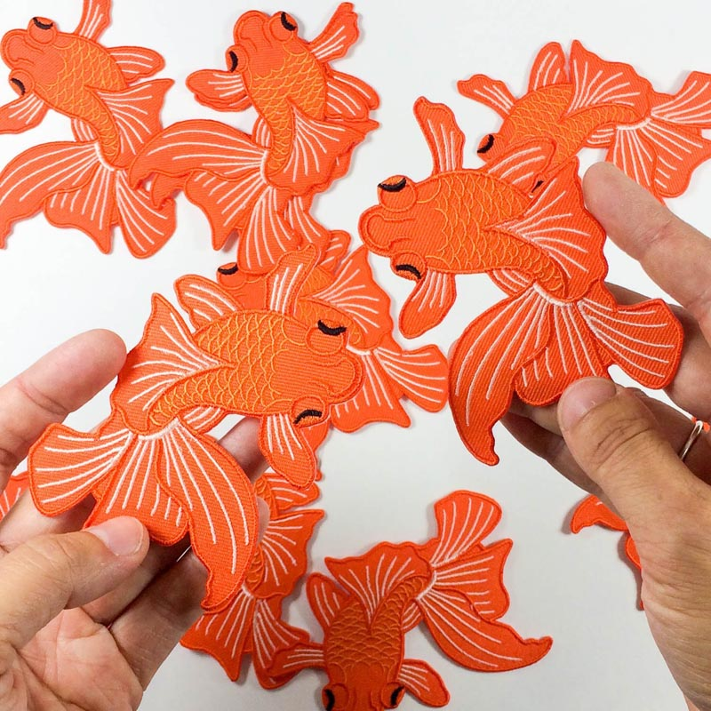 Japanese Koi Fish Patch