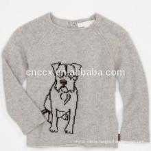 15STC6812 puppy kids cashmere sweater