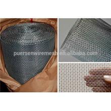 High quality galvanized square wire mesh