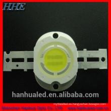 Diodo LED blanco de 5W con color blanco, 12V