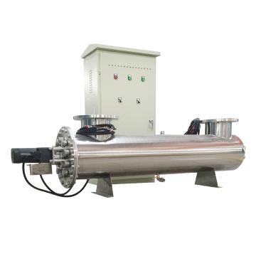 Sistemas de desinfección de aguas residuales UV de buques cerrados para efluentes industriales