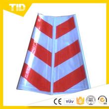Imprimir Logo de cono de tráfico de advertencia plástico