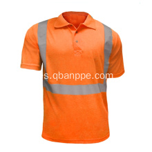 Camiseta de desgaste de trabajo Polo single color