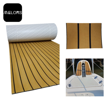 Teak + Black Color Marine EVA Foam Boat Suelo