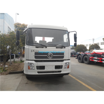 Hooklift garbage truck with compressed garbage box