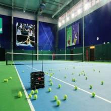 Высокое качество ПВХ спорта настил Inroll для тенниса Крытый 4,5 мм