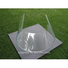Verre d'approvisionnement fabricant fourneau de flexion pour divers des verres de flexion