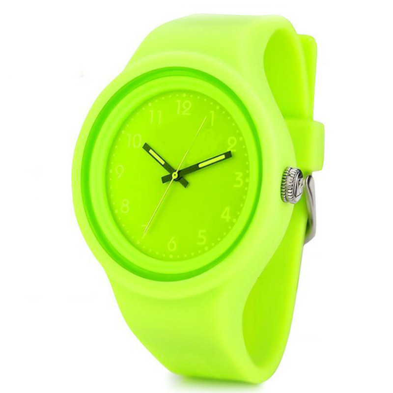 green jelly watch