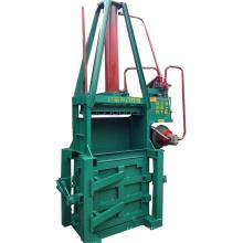 Small Vertical Hydraulic Pressing Waste Carton Baler Machine