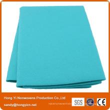 Polyester Non-Woven Fabric Cloth, Orange Color All Purpose Non-Woven Pet Drying Towel