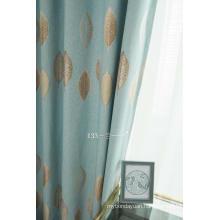 Cashmere Jacquared Fabric Grommet Blackout Window Panel Curtain Blind