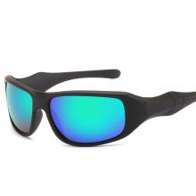 Wholesale Men Explosion-Proof Bike Reflective Cycling Sunglasses