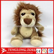 Fabricante animal LED peluche marrón orangután juguete