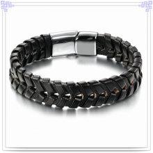 Fashion Jewellery Leather Jewelry Leather Bracelet (LB087)