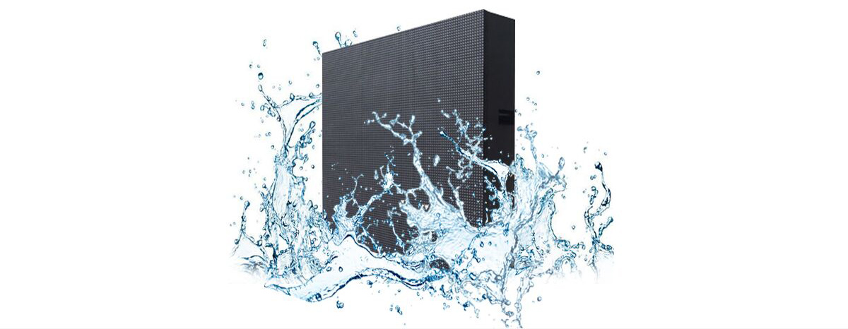 Outdoor led display screen with waterproof
