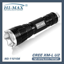 T6 LED zoom super linterna brillante