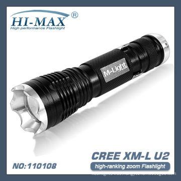 T6 LED zoom super helle Taschenlampe