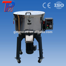 China 100kg pequeña capacidad de cobre puro mezclador de materias primas plásticas