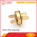 Strong high quality metal magnetic purse clasps for bag