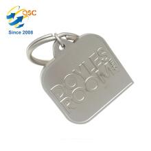 Cadeaux promotionnels personnalisés faits sur commande à la main faits sur commande de logo de haute qualité Keychain