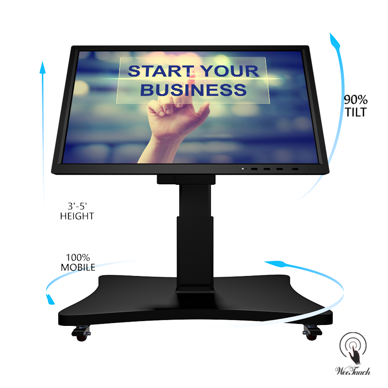 55 Inches LED Back Lighted Screen With Automatic Stand