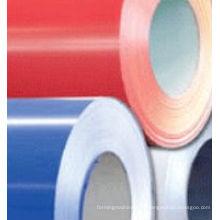 Matériaux de construction ou bobines de feuilles en acier coloré