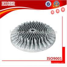 Изготовленный на заказ алюминий литье под давлением лампа пустой корпус