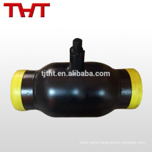 fully welded air vent ball valve for heating