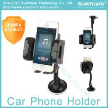 Soporte de montaje del parabrisas de la succión 360 Gire el tenedor ajustable del teléfono del coche