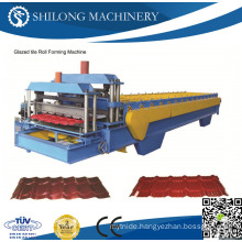 CE Approved Prepainted Galvanized Corrugated Metal Roof Panel Tile Roll Forming Machines