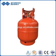 Cylindre portatif en acier de gaz de LPG soudé par haute sécurité 9kg