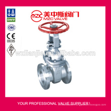 300LB Flanged Stainless Steel Gate Valves Non Rising Stem Gate Valves