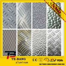 3000 1000 series embossed Anti skid aluminum sheet flooring