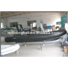 Rigid hull inflatable boat with CE