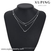 Necklace-00200-cheap joyería de moda al por mayor collar de múltiples capas