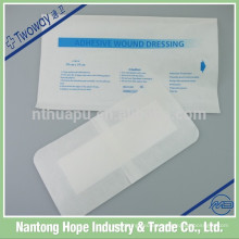 Material adhesivo médico del vendaje de herida adhesivo