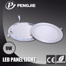 9W weiße LED Panellight für zu Hause mit CE (PJ4026)