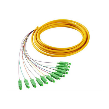 Pigtail SC APC 12 Cores Fiber Optic Bundle