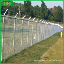 factory price barbed wire chain link fence