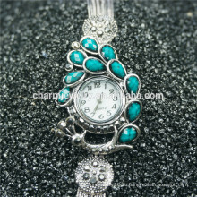 Элегантная женская мода красивые кварцевые наручные часы B001