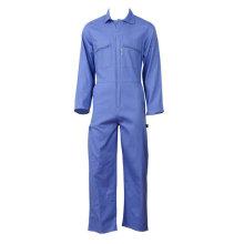 Combinaison de couleur bleue vêtement de travail de style de base